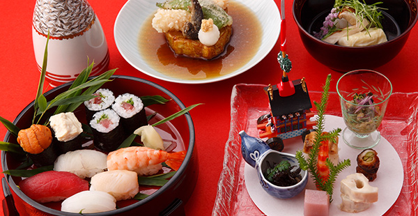 A famous japanese WASHOKU cuisine from 7452JPN to 18630JPN.